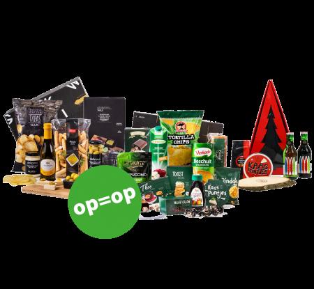 kerstpakketten verrassen collega's en personeel